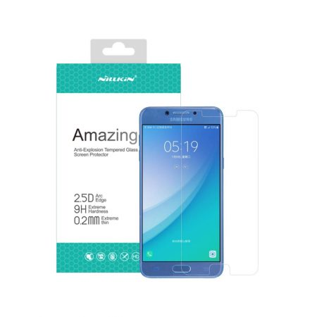 خرید Nillkin Amazing H+ Pro 2.5D Glass Screen Protector for Galaxy C5 Pro