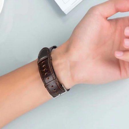 خرید بند چرمی ساعت هوشمند سامسونگ گیر اسپورت