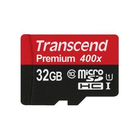 خرید کارت حافظه ترنسند 32 گیگابایت Transcend microSDHC 400x 32GB