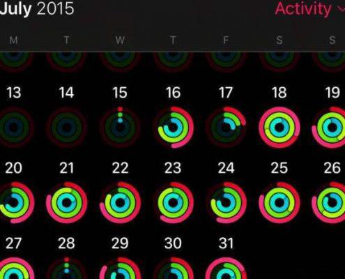 اپلیکیشن ردیاب فعالیتهای جسمانی اپل