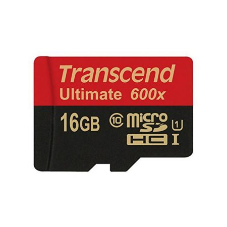 خرید کارت حافظه ترنسند 16 گیگابایت Transcend microSDHC 600x 16GB