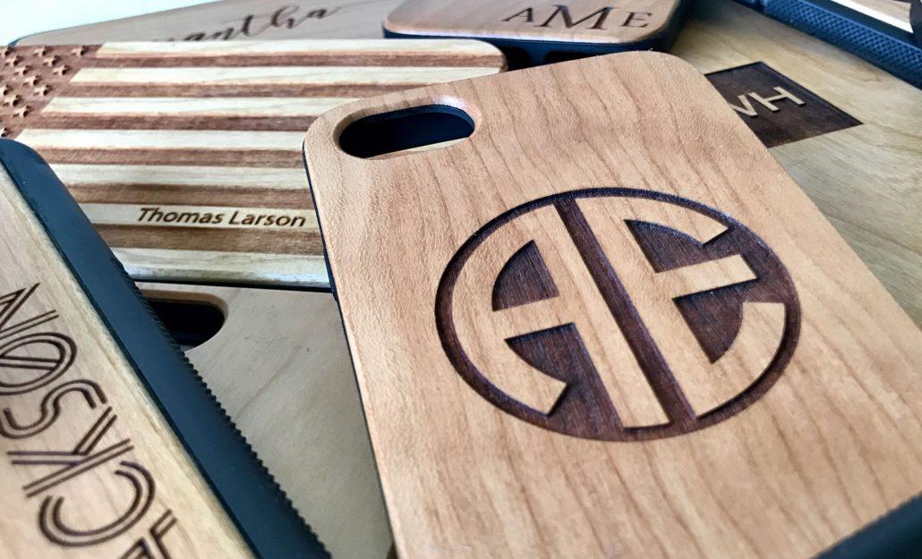 قابهای گوشی موبایل از جنس چوب