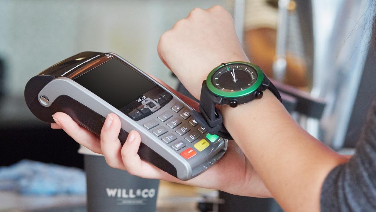 پرداخت آنلاین با ساعت هوشمند