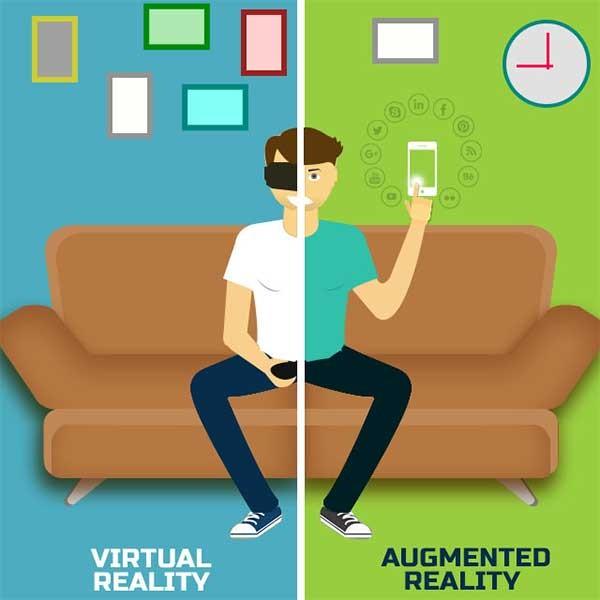 مقایسه واقعیت مجازی و واقعیت افزوده