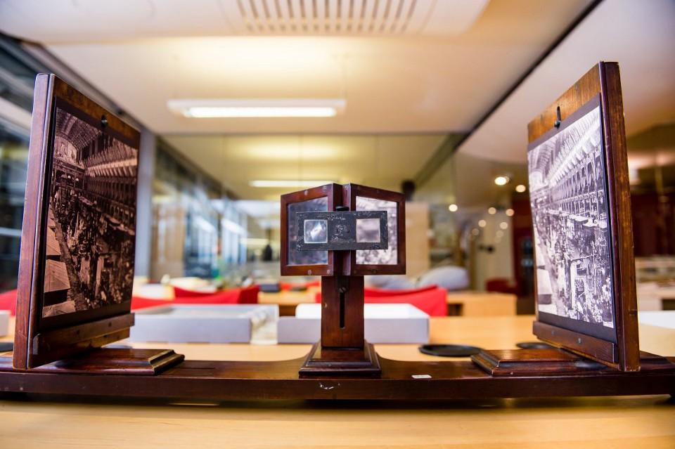 استریوسکوپ؛ اولین تجربه تصاویر سهبعدی