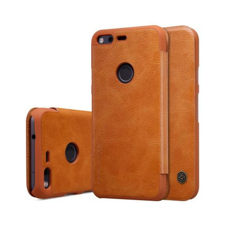 خرید کیف چرمی نیلکین گوشی موبایل گوگل Nillkin Qin Google Pixel