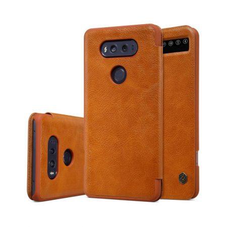 خرید کیف چرمی نیلکین گوشی موبایل ال جی Nillkin Qin LG V20