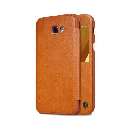 خرید کیف چرمی نیلکین گوشی موبایل Nillkin Qin Samsung Galaxy A7 2017