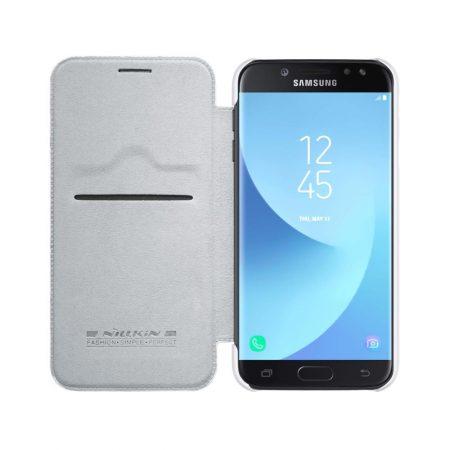 خرید کیف چرمی نیلکین گوشی موبایل Nillkin Qin Samsung Galaxy J7 2017
