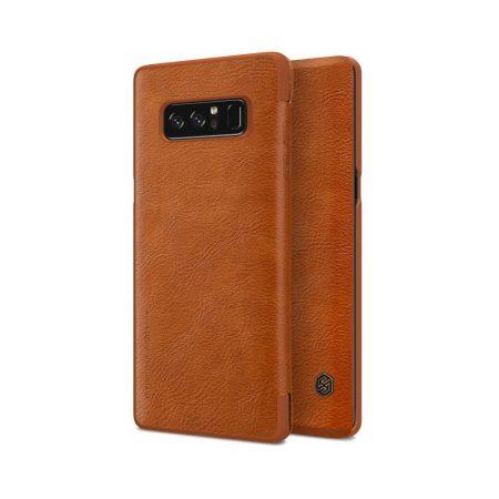 خرید کیف چرمی نیلکین گوشی موبایل Nillkin Qin Samsung Galaxy Note 8