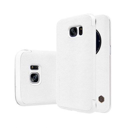 خرید کیف چرمی نیلکین گوشی موبایل Nillkin Qin Samsung Galaxy S7 Edge