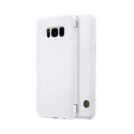 خرید کیف چرمی نیلکین گوشی سامسونگ Nillkin Qin Samsung Galaxy S8