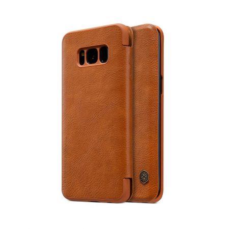 خرید کیف چرمی نیلکین گوشی موبایل سامسونگ Nillkin Qin Samsung S8 Plus