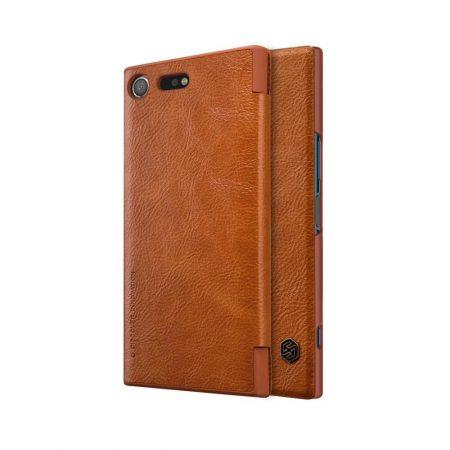 خرید کیف چرمی نیلکین گوشی سونی Nillkin Qin Sony Xperia XZ Premium