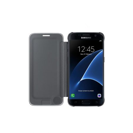 خرید کیف هوشمند سامسونگ Galaxy S7 مدل Clear View