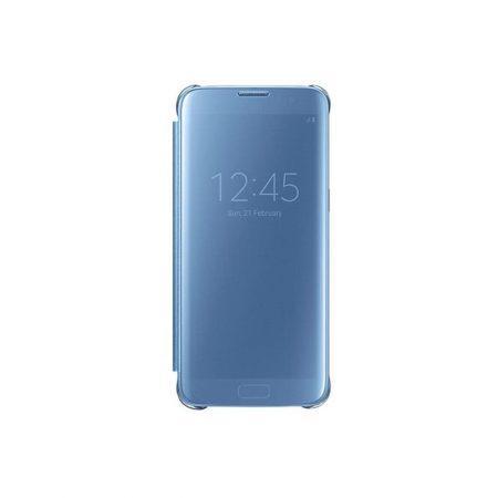 خرید کیف هوشمند سامسونگ Galaxy S7 Edge مدل Clear View
