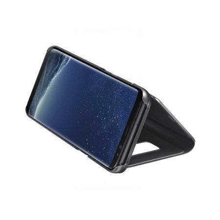 خرید کیف هوشمند سامسونگ Galaxy S8 Plus مدل Clear View Standing