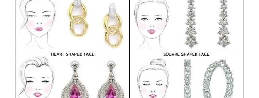 گوشواره مناسب برای چهرههای متفاوت