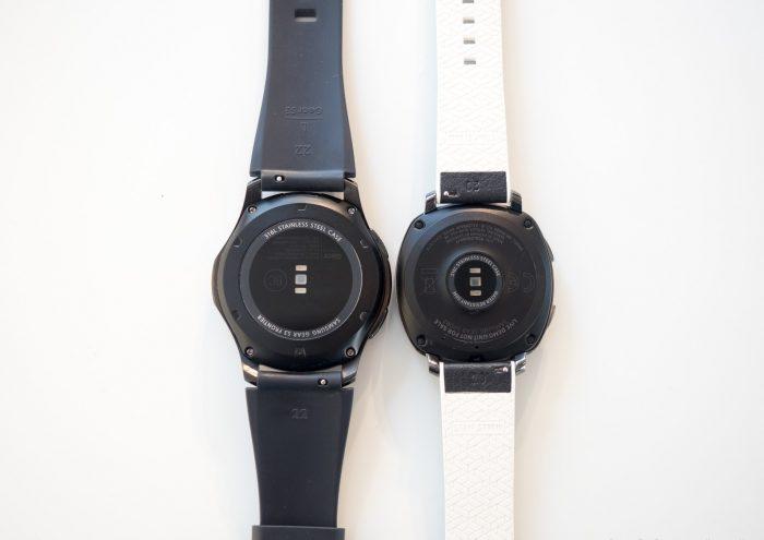 ساعت هوشمند Gear Sport در کنار Gear S3 سامسونگ