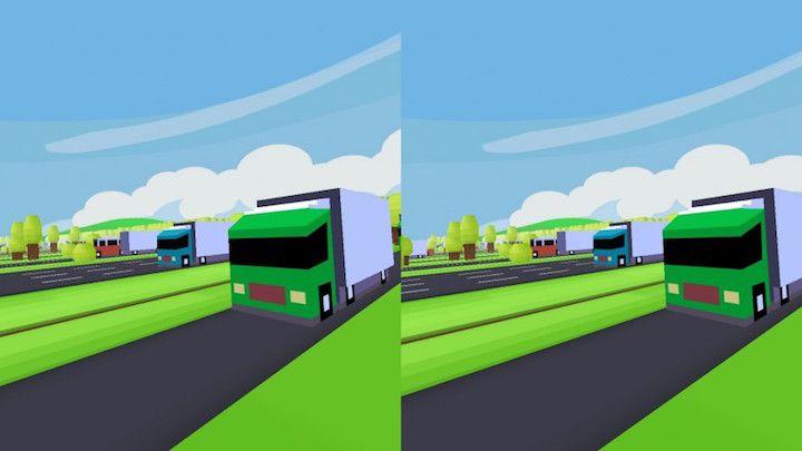 نسخه واقعیت مجازی Crossy Road برای موبایل