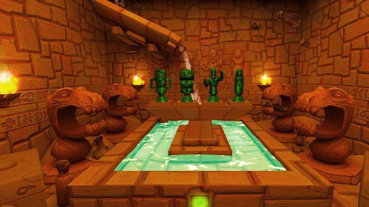 یک بازی فکری در معبدی باستانی