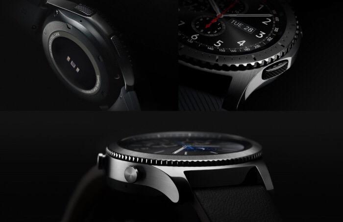 سامسونگ Gear S3 Frontier از نماهاى مختلف