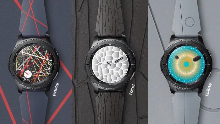 بندهاى مختلف ساعت Samsung Gear S3