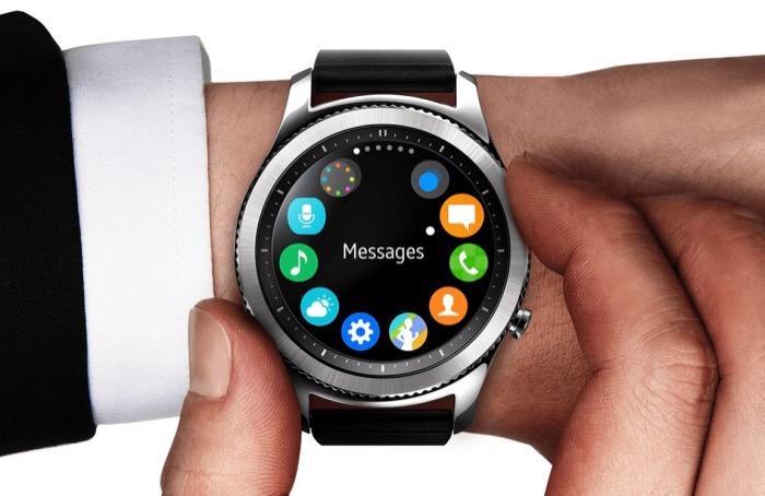 اپلیکیشن ساعت Gear S3