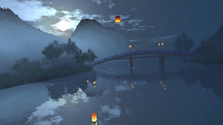 یک تجربه واقعیت مجازی آرام و زیبا