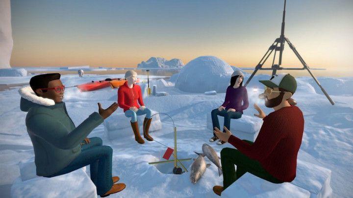 وی تایم؛ تعامل با دوستان در فضای واقعیت مجازی