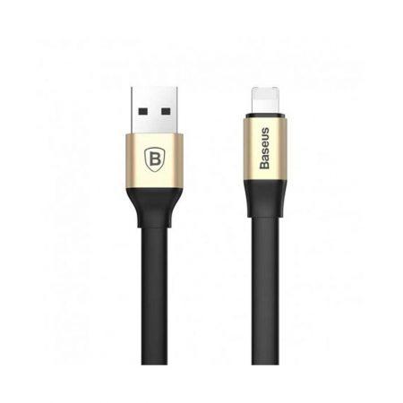 خرید کابل قابل حمل دو منظوره لایتنینگ و میکرو USB بیسوس Two-in-one
