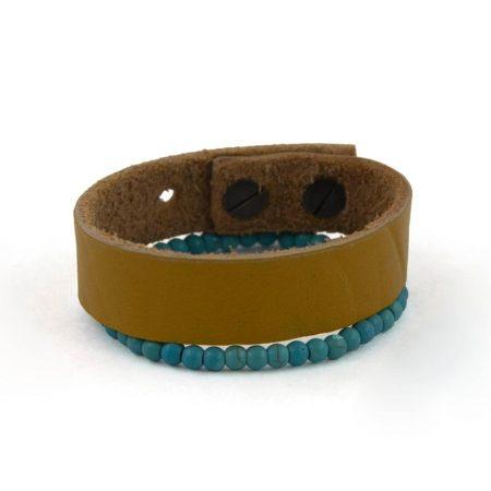 خرید دستبند چرم ژوست کد 418