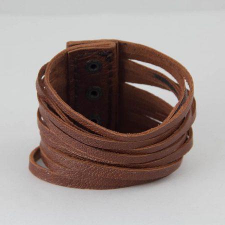 خرید دستبند چرم ژوست کد 423