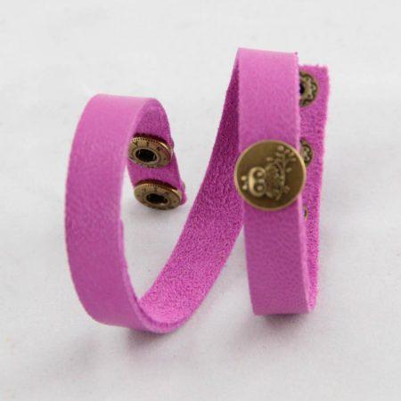خرید دستبند چرم ژوست مدل جغد کد 421