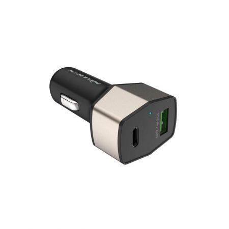 خرید شارژر گوشی فندکی Celerity پورت C و USB نیلکین