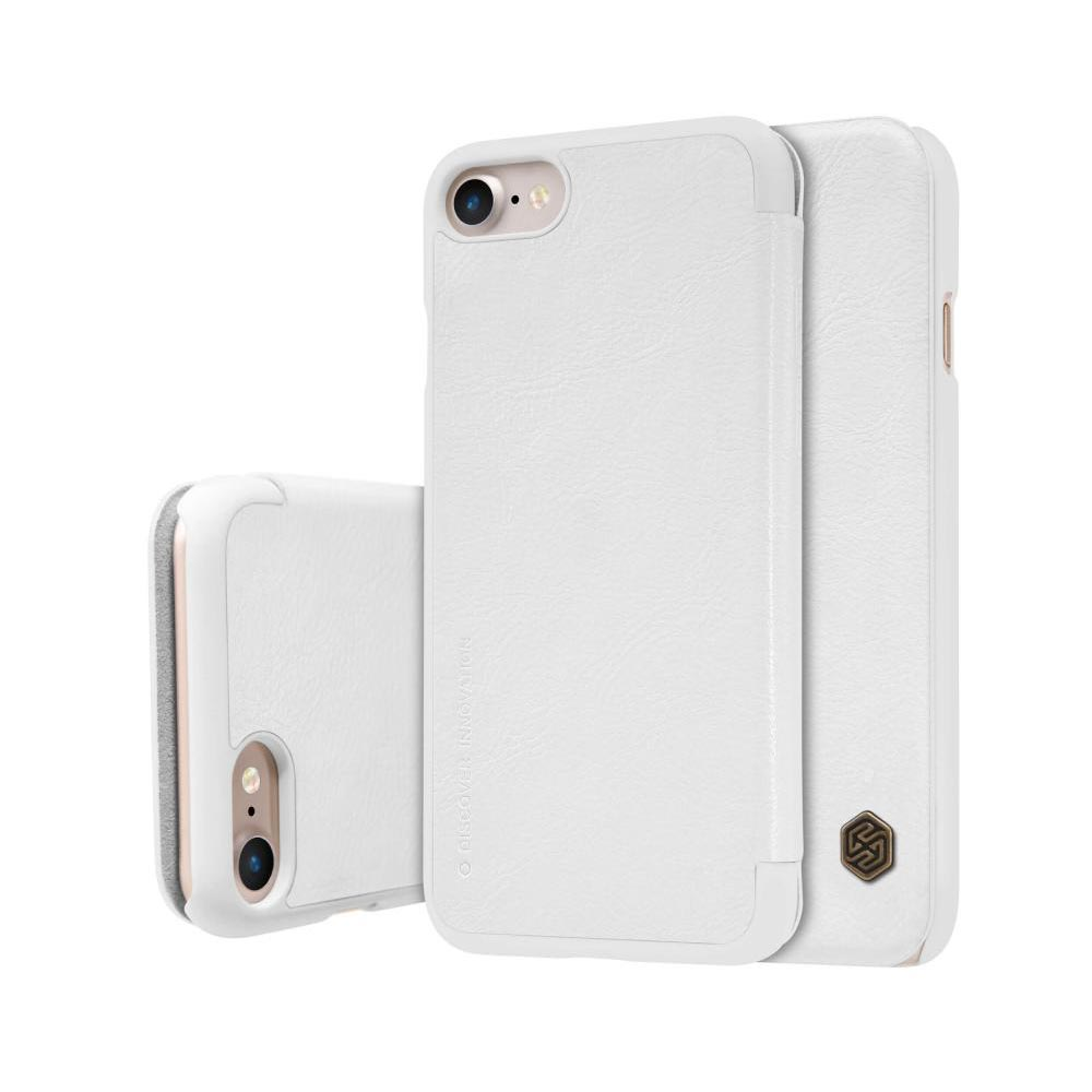 خرید کیف چرمی نیلکین گوشی موبایل آیفون Nillkin Qin Apple iPhone 8