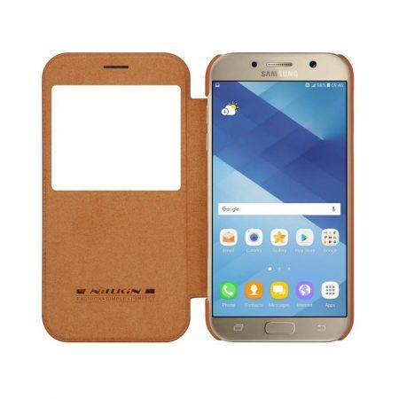خرید کیف چرمی نیلکین گوشی موبایل Nillkin Qin Samsung Galaxy A5 2017
