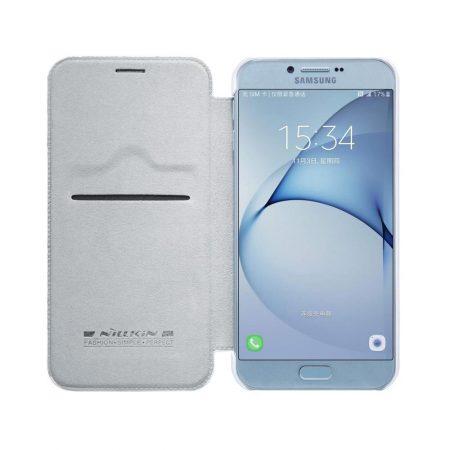 خرید کیف چرمی نیلکین گوشی موبایل Nillkin Qin Samsung Galaxy A8 2016