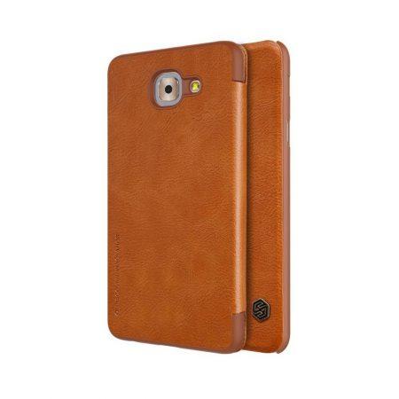 خرید کیف چرمی نیلکین گوشی Nillkin Qin Samsung Galaxy J7 Max