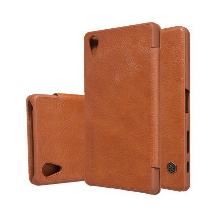 خرید کیف چرمی نیلکین گوشی سونی Nillkin Qin Xperia X Performance