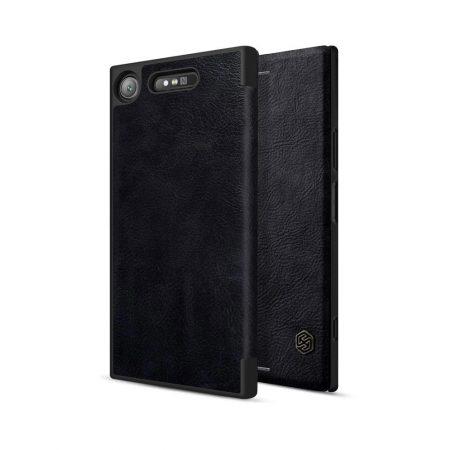 خرید کیف چرمی نیلکین گوشی موبایل سونی Nillkin Qin Sony Xperia XZ1
