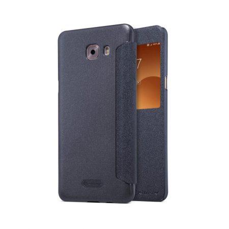 خرید کیف نیلکین گوشی سامسونگ Nillkin Sparkle Samsung Galaxy C9 Pro