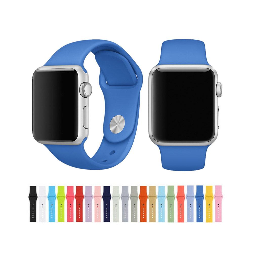 خرید بند سیلیکونی ساعت هوشمند اپل واچ 38 میلی متری