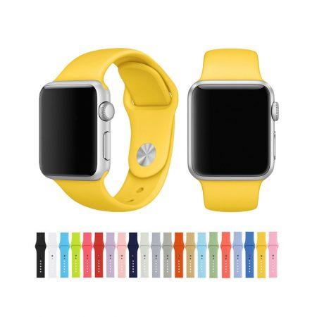 قیمت خرید بند سیلیکونی ساعت هوشمند اپل واچ 42 میلی متری