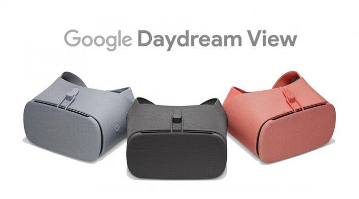 معرفی هدست واقعیت مجازی Google Daydream View 2017