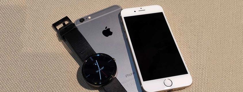 آموزش جفت سازی ساعت هوشمند اندرویدی (Android Wear) با گوشی آیفون