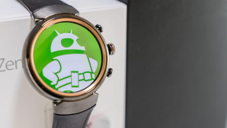 ساعت مچی نسل سه ایسوس با سیستم عامل Android Wear