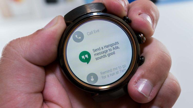 مشاهده پیامهای دریافتی در ساعت هوشمند Asus Zenwatch 3