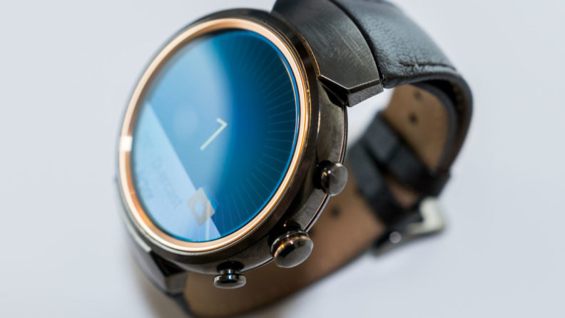 دکمههای ساعت هوشمند Zenwatch 3