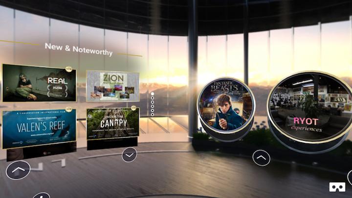 Jaunt-VR ترکیب تجربههای واقعیت مجازی پرفروش